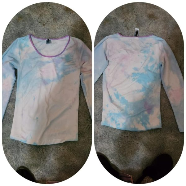 Blue Patches Tie Dye