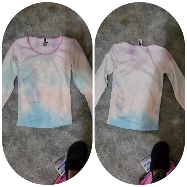 Fade top - Tie Dye