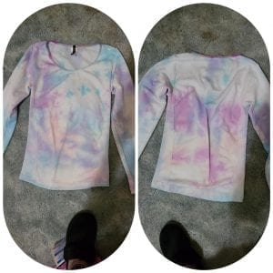 Purple Love- Tie Dye