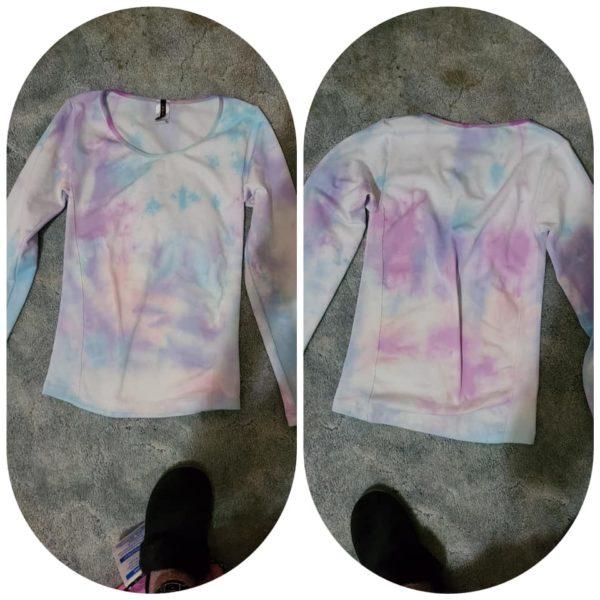 Purple Love- Tie Dye