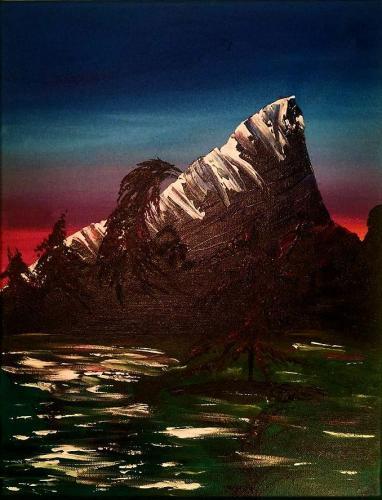 Sea of Wonder 16 x 20 acrylic on canvas 2020