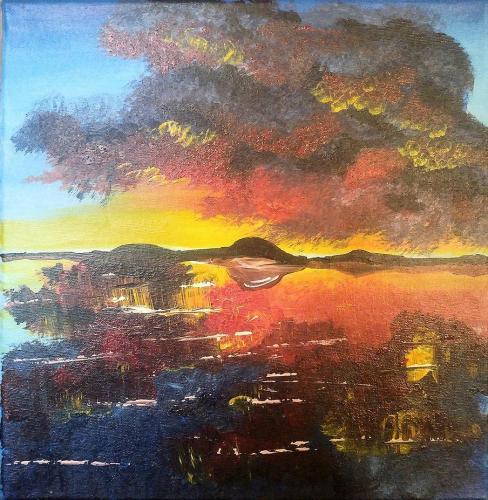 sailors delight 12 x 12 acrylic on canvas 2020 alicia jt